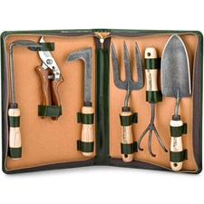 Calf Leather Gardening Kit