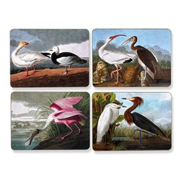 Audubon Vintage Birds Mats and Coasters