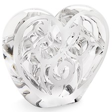 Lalique Music is Love Heart Sculpture