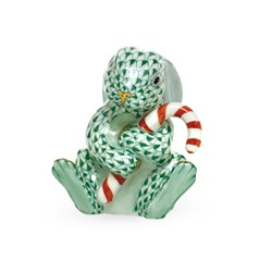 Herend Candy Cane Bunny