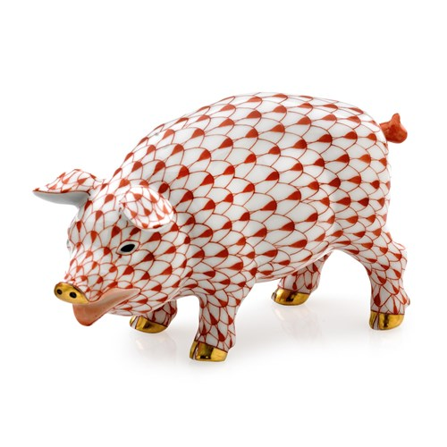Herend Exclusive Pig
