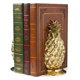 Brass Pineapple Bookend / Doorstop