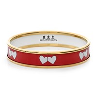 Halcyon Days Love Hearts Handpainted Bangle