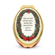 "Halcyon Days ""May You Feel the Love"" Enamel Box"