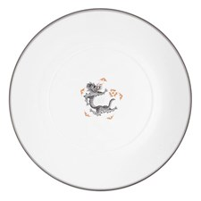 Meissen Ming Dragon China, Black & Platinum
