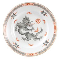 Meissen Ming Dragon China with Black Border