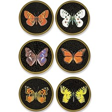 Butterfly Glass Mats and Coasters