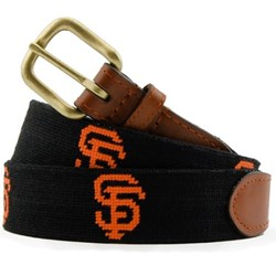 MLB Giants Needlepoint Belt