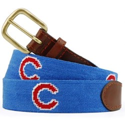 MLB Cubs Needlepoint Belt