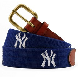 MLB Yankees Needlepoint Belt