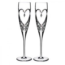 Waterford Love Collection Flutes