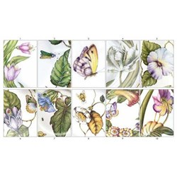 Anna Weatherley Assorted Botanical Greeting Cards, Set of 10