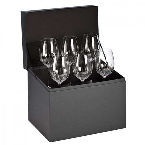 Waterford Lismore Essence Glassware, Set of 6